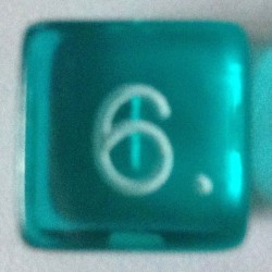 d6 gemme aquablue