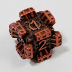 d6 Fortress Orange Unlimited