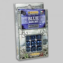 9d6 Bleus Basic set - Unlimited Irondie