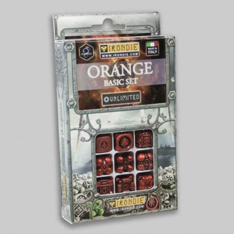 9d6 Oranges Basic set - Unlimited Irondie