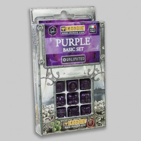 9d6 Violets Basic set - Unlimited Irondie