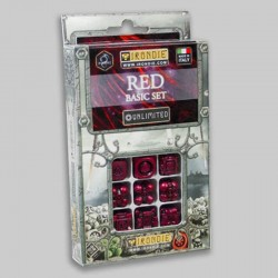 Irondie Basic Unlimited Set - 9d6 Rouges