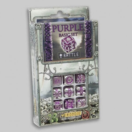 Irondie Battle Set - 9d6 Violets