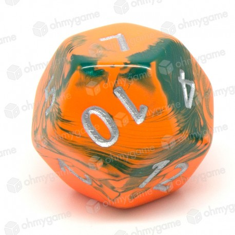 d12 jumbo toxic orange - vert (chemical)