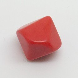 d10 opaque vierge rouge
