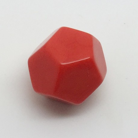 d12 opaque vierge rouge